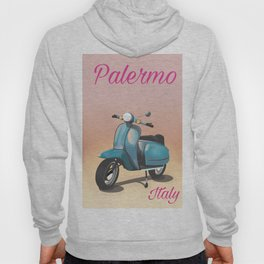 Palermo Italy travel poster Hoody