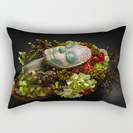 Acorn Harvest Muertita Rectangular Pillow