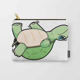 Little Turtle Down! Help Him! Carry-All Pouch