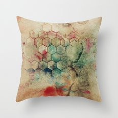 Hexa II Throw Pillow