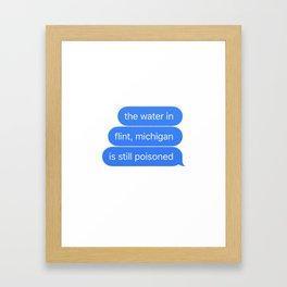 Flint Framed Art Print