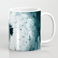 dandelion Mugs featuring dandelion by Falko Follert Art-FF77