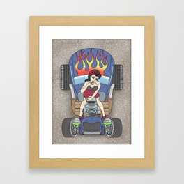 cool the engine Framed Art Print