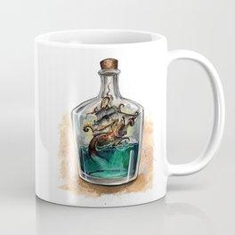 Ship in a bottle Coffee Mug