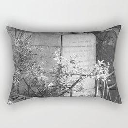 old memorial Rectangular Pillow