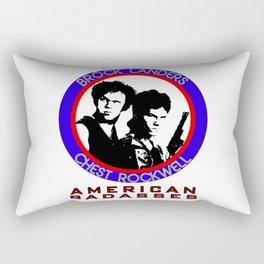 Brock and Chest Rectangular Pillow