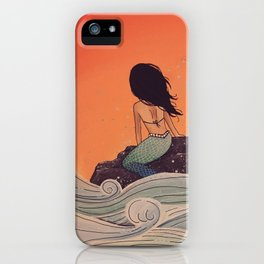 High Tide - MaddyAbbs Art iPhone Case