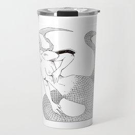 Ophelia Black&White Travel Mug