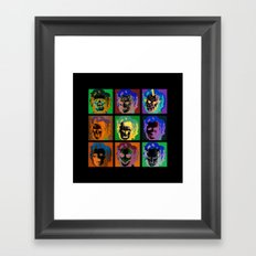 Horror Pop Framed Art Print
