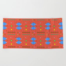 South America Dreaming Beach Towel