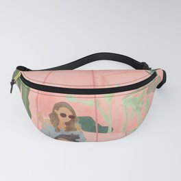 Enjoying the New Day Fanny Pack