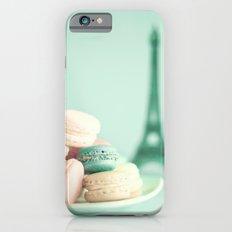 Soft and Pale Paris iPhone 6 Slim Case