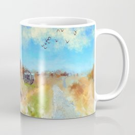 Antietam Under Blue Skies Coffee Mug