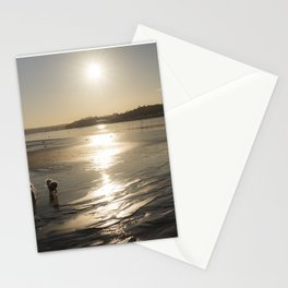 Instow Winter Doggies  Stationery Cards