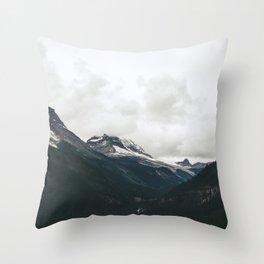 Mountain Valley Throw Pillow