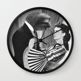 Sloth with Rossella O'Hara Wall Clock