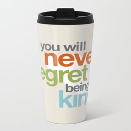 Be Kind Metal Travel Mug
