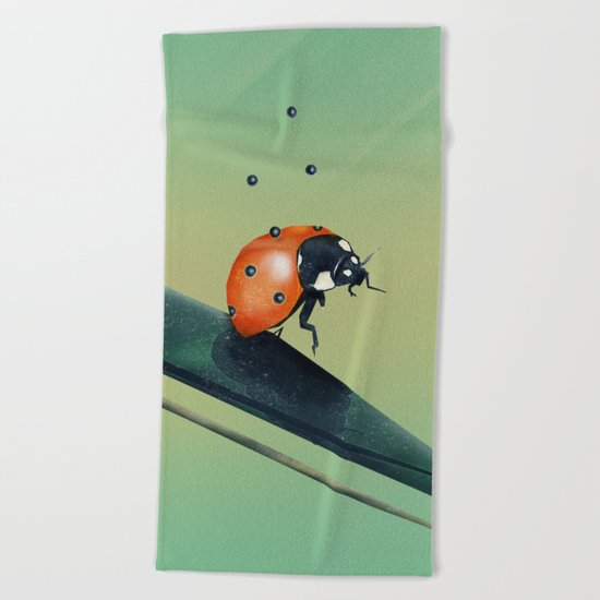 Oh, Bugger (Spring Version) Beach Towel