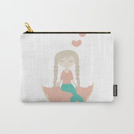 Even the Mermaid loves Donut Carry-All Pouch