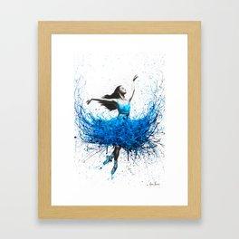 Ocean Ballet Framed Art Print