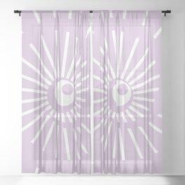 Sunshine / Sunbeam 6 Sheer Curtain