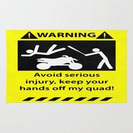 Quad Warning Rug
