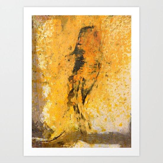 道の金 (Way of Gold) Art Print