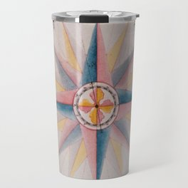 Vintage Compass Rose Diagram (1773) Travel Mug