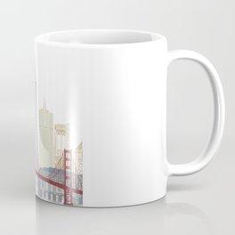 San Francisco skyline poster Coffee Mug
