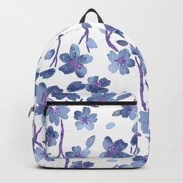 Blue Flowers 4 Backpack