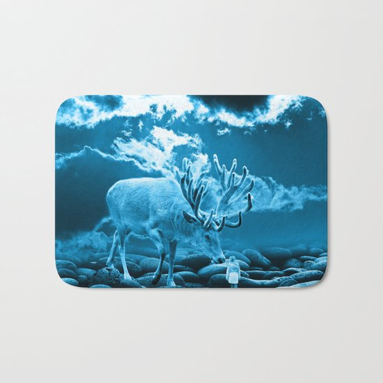 Big Deer Bath Mat