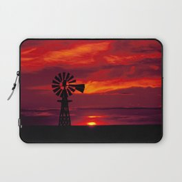 Carol M Highsmith - Windmill, Colorado Laptop Sleeve