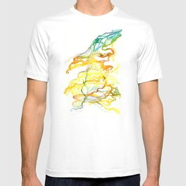Iceland Abstracted #6 T-shirt