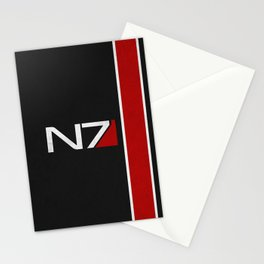 N7 Iconic Design Stationery Cards