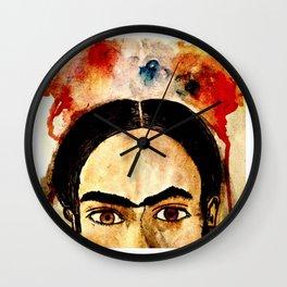 Sin Flores Wall Clock