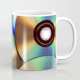 CD Pattern Coffee Mug