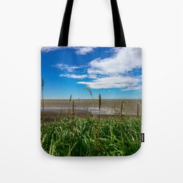 Alaska Beach on the Edge of the World Tote Bag