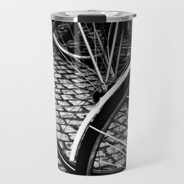 Squares And Circles Travel Mug