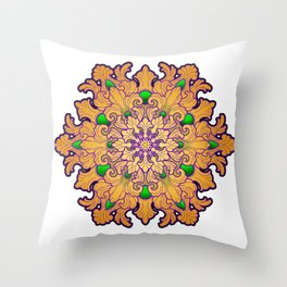 Filigree v2 Throw Pillow