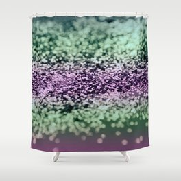 Mermaid Lady Glitter #1 #decor #art #society6 Shower Curtain