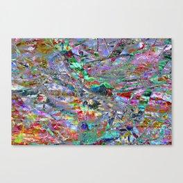 Technicolour: Two Canvas Print