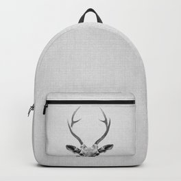 Deer - Black & White Backpack