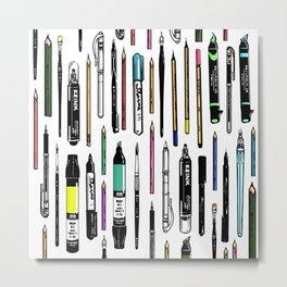 Pent Up Creativity (Color) Metal Print