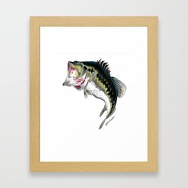 Mr Bass Framed Art Print