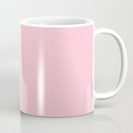Dense Melange - White and Flamingo Pink Coffee Mug
