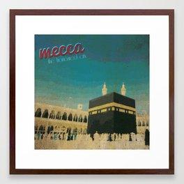 Mecca Framed Art Print