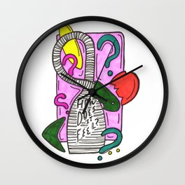 How Does it Feel? Wall Clock
