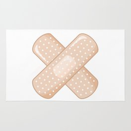 Get Well Bandaid Rug