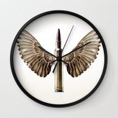 Caliber 30 Bird Wall Clock