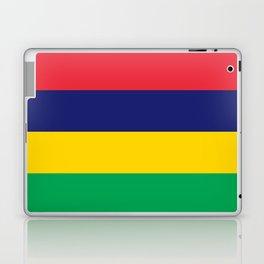 Mauritius Flag Laptop & iPad Skin